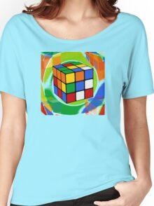 Rubik's Cube 2 Women's Relaxed Fit T-Shirt