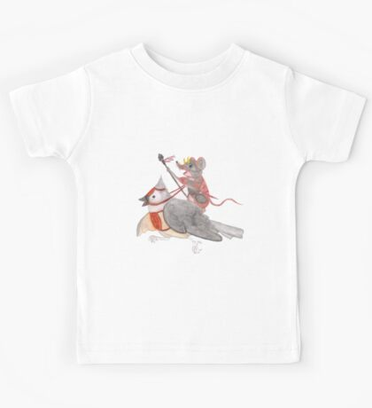 Riding Into Battle Kids Tee