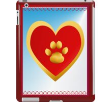 I LOVE CATS-paw iPad Case/Skin