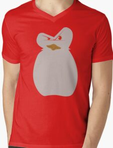 Mad Penguin Mens V-Neck T-Shirt