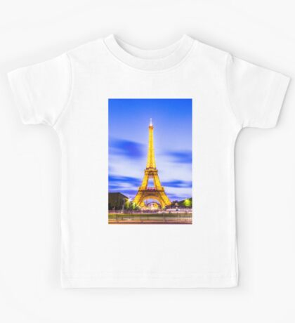 Eiffel Tower 7 Kids Tee