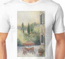 Red Umbrella - Tuscany Unisex T-Shirt