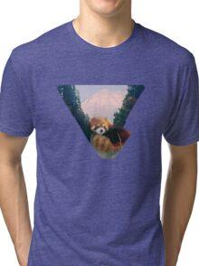 Red Panda Valley  Tri-blend T-Shirt