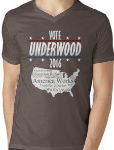 Vote Frank Underwood 2016 Mens V-Neck T-Shirt