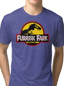 Furassic Fark Tri-blend T-Shirt