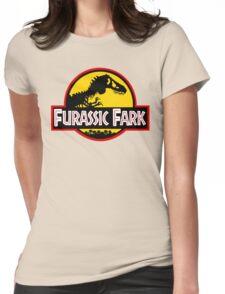 Furassic Fark Womens Fitted T-Shirt