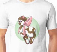 Cutie Bow Llama Unisex T-Shirt