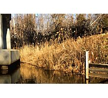 At the End of the Bridge Photographic Print