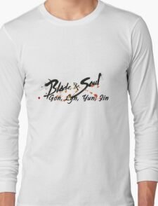 Races - Blade and Soul Long Sleeve T-Shirt