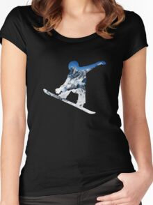 Snowboard Women's Fitted Scoop T-Shirt