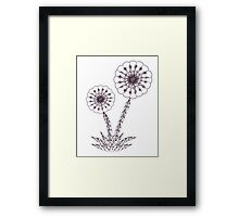death flower Framed Print
