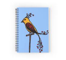 Fancy Bird Spiral Notebook