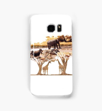 African Nature Samsung Galaxy Case/Skin