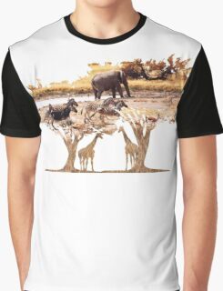 African Nature Graphic T-Shirt
