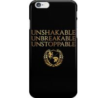 Unshakable, Unbreakable, Unstoppable - Conquer Enterprise  iPhone Case/Skin