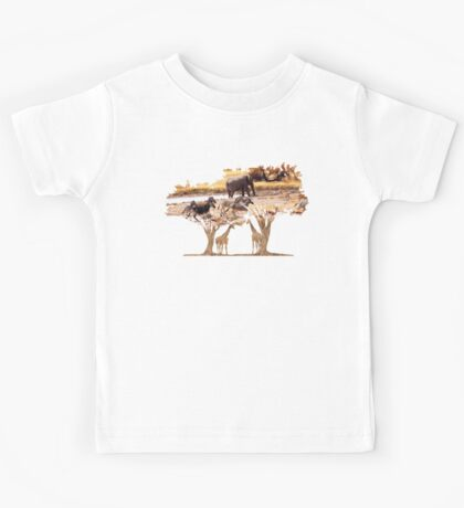 African Nature Kids Tee