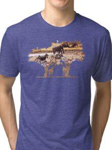 African Nature Tri-blend T-Shirt