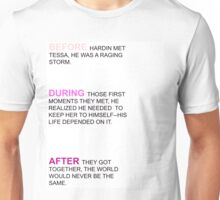 Before Quote. Unisex T-Shirt
