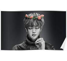 BTS Jin Flower Crown 1 Original Poster