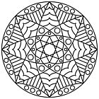 Stained Glass Mandala by ninthcircle