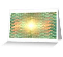 Gravity Waves Greeting Card