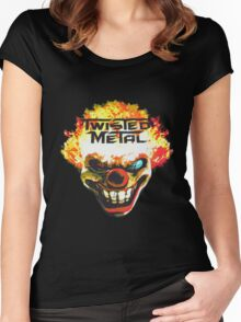 Twisted Metal: Sweet Tooth Women's Fitted Scoop T-Shirt