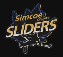 Simcoe County Sliders Crest One Piece - Short Sleeve