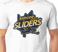 Simcoe County Sliders Crest Unisex T-Shirt