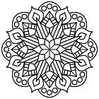 Flower and Flame Mandala by ninthcircle