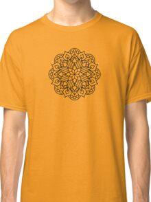 Flower and Flame Mandala Classic T-Shirt