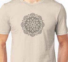 Flower and Flame Mandala Unisex T-Shirt