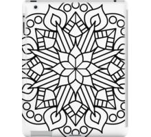 Flower and Flame Mandala iPad Case/Skin