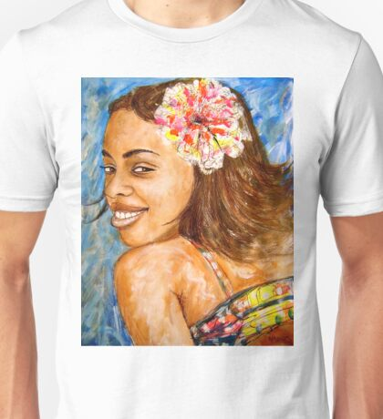 The Girl From Trinidad Cuba Unisex T-Shirt