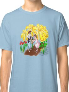 Among The Spring-Flowers Classic T-Shirt