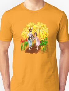Among The Spring-Flowers Unisex T-Shirt