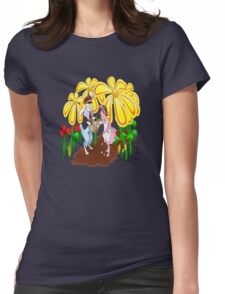 Among The Spring-Flowers Womens Fitted T-Shirt