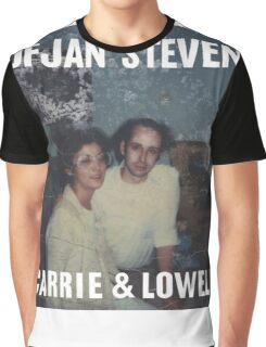 Carrie and Lowell album cover by Sufjan Stevens Graphic T-Shirt