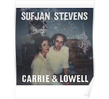 Carrie and Lowell album cover by Sufjan Stevens Poster