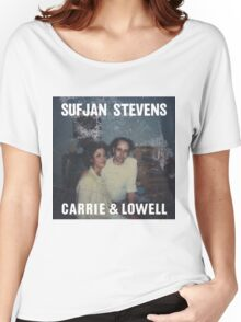 Carrie and Lowell album cover by Sufjan Stevens Women's Relaxed Fit T-Shirt