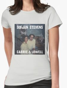 Carrie and Lowell album cover by Sufjan Stevens Womens Fitted T-Shirt