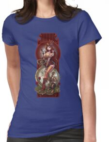 The Time Keeper Womens Fitted T-Shirt