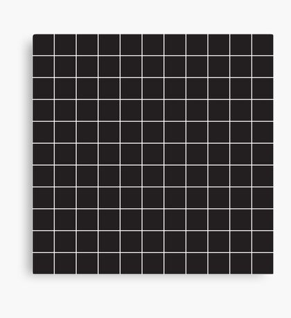 Grid Lock Canvas Print
