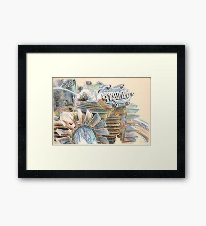 Triumph Framed Print