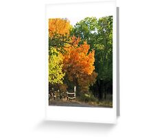 Colorado's Autumn Show Stopper Greeting Card