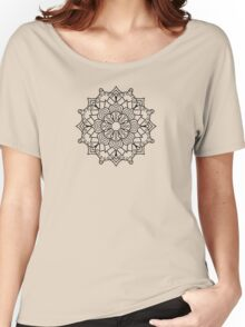 Hypno-Mandala Women's Relaxed Fit T-Shirt