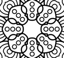 Hypno-Mandala Sticker