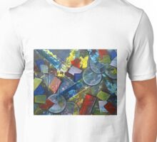 Its Complicated Modern Geometric Abstract Painting Unisex T-Shirt