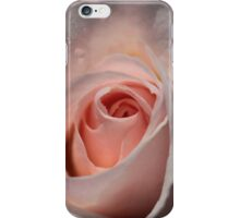 Shell Pink Rose Bud iPhone Case/Skin