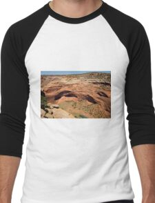 In The Shelter Of The Wind I Will Build My Home Men's Baseball ¾ T-Shirt