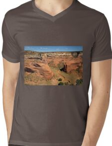 Even Though The Road Is Winding I Will Find My Way Mens V-Neck T-Shirt